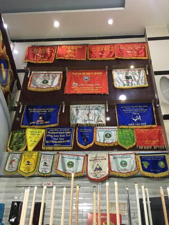 Bằng khen các giải thi đấu Bida Hưng Phát được trao tặng